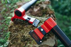 Making going to the cottage easier. Chopping wood has never been easier or safer than with this revolutionary new axe #design. #product #mod