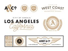 Army & Co #lettering #logos