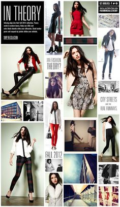 Theory Fall 2012 for bloomingdales.com #theory #lookbook #bloomingdales #fall fashion