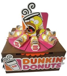 Dunkin Donut´s – packaging y display