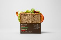 Reitan Sandwich Packaging by BVD #packaging #reitan #sandwich #bvd
