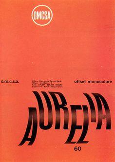 Aldo Calabresi, Studio Boggeri — OMCSA (1957) #poster