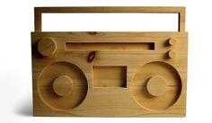 TODD ST. JOHN #wood #huga #boombox