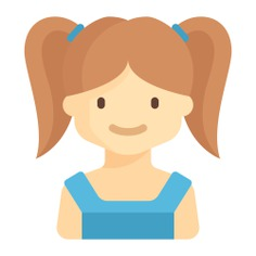 See more icon inspiration related to child, girl, young, avatar, user, kid, people and profile on Flaticon.