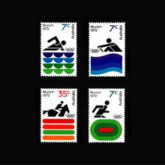 Re:Collection Munich 1972 Stamps #olympics #stamps #munich