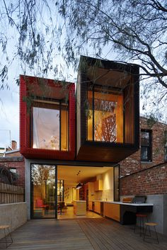 The House With a Japanese Maple Tree in Melbourne by Andrew Maynard #architecture