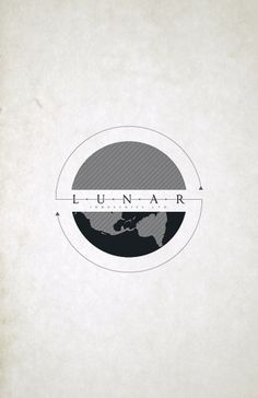 All sizes | Lunar Industries | Flickr - Photo Sharing! #illustration #logo #moon