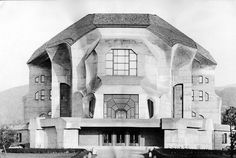 Second Goetheanum in Dornach (SUI) by Rudolf Steiner, 1925