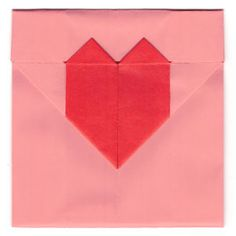 How to make a heart origami envelope (http://www.origami-make.org/howto-origami-valentines.php)