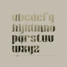 Dockyard Typeface on the Behance Network