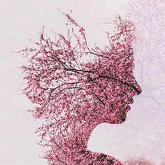 Double Exposure Abstract Photographs by Sara K Byrne #inspiration #abstract #photography