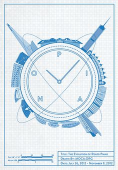 Time is (still) on your side #illustration #architecture #poster