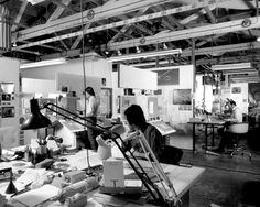 Swiss Cheese and Bullets - Journal - Inside the Eames Office #office #studio #eames