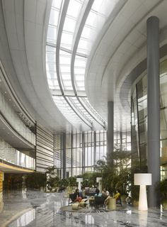 CJWHO ™ (IFC Guangzhou / Wilkinson Eyre Architects) #design #interiors #guangzhou #photography #architecture