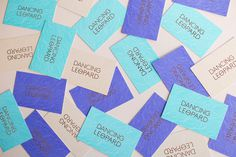 Dancing Leopard by Claire Hartley — The Brand Identity