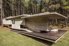 Forest Concrete House by Besonias Almeida Arquitectos 1