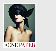 Acne Paper   Swiss Legacy #direction #art
