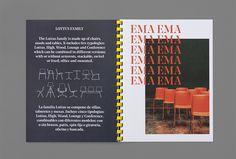 Enea by Clase bcn #graphic design #print #editorial