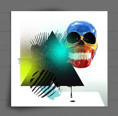 CRIVA / Designer & Art Director #illustration #skull