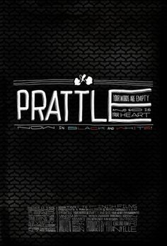 Prattle, Short Film Art Direction - RadFive.com #film #poster #typography