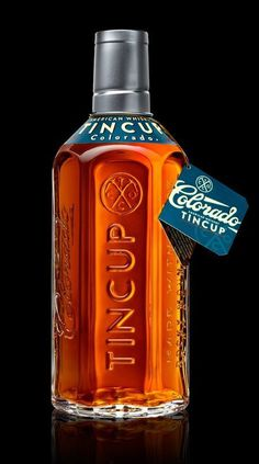 TINCUP Whiskey by Stranger & Stranger #packaging #bottle