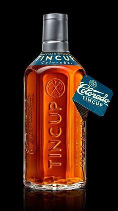 TINCUP Whiskey by Stranger & Stranger #packaging #bottle
