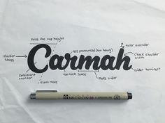 Carmah Sketch by Colin Tierney