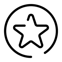 See more icon inspiration related to star, rate, shape, circular, circle and shapes on Flaticon.