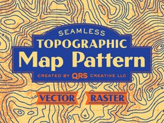 Topographic Map Pattern (now for sale!) camping exploration outdoors adventure wayfinding map contour elevation lines topographic topography mountains