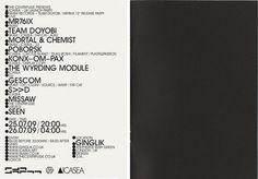 Qubik Design +44 (0)113 226 0839 #flier #qubik