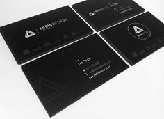 Audio Avenue on Behance #circle #branding #business #card #type #design #graphic #black #corporate #triangle #rules #logo #typography