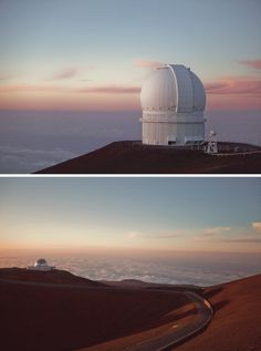 JAMES CHOROROS: No. 141 | Near & Far | HI Taken at 14,000 feet... #observatory #sunset #photography #architecture