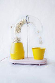 Popcorn Monsoon by Jolene Carlier #minimalist design #popcorn maker