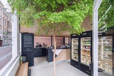 The Cold Pressed Juicery - Build in Amsterdam