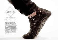 xyz 3d printed shoe