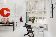 stockholm dining nook #interior #design #decor #deco #decoration