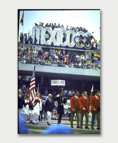 Mexico 1968. / Aqua-Velvet #lance #wyman #mexico #photo #city #1968 #logo #olympics