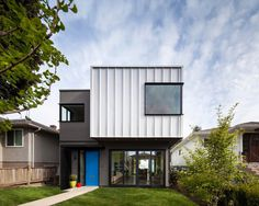 Grade House in East Vancouver