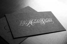 Eight Hour Day » Blog #card #lettering #script #black