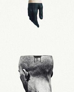 dark thoughts #graphicdesign #art #illustration