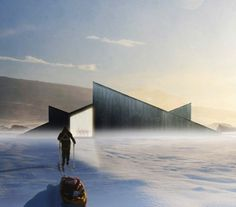 Dezeen » Blog Archive » Mountain Hill Cabin by Fantastic Norway #architecture