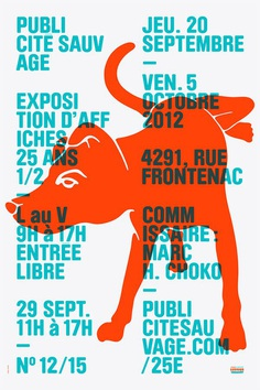 PUBLICITÉ SAUVAGE / 25th ANNIVERSARY EXHIBITION SERIES on Behance