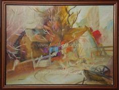 9 Amazing Landscape Oil Paintings by Mariva #urban #llandscaoe #landscape #painting #paintings #oil