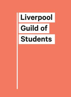 New Logo and Identity for Liverpool Guild of Students by Smiling Wolf #logo