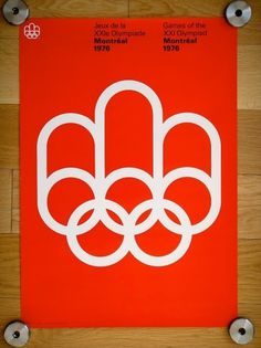 1976 Montreal Olympics Poster #international #1976 #georges #pierreyves #montreal #by #typographic #grid #system #huel #pelletier #poster #olympics #1976designed #style