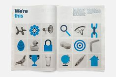 Gazprom Energy | MARK #grid #layout #spread #editorial #newsprint