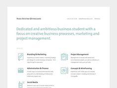 Straign #resume
