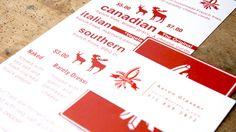 Potato-A Menu Design #blkdv #menu #design #poutine #potatoa #potato #canadian