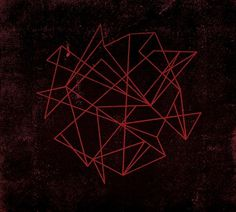 ReckerHouse #red #lines #chaz #print #russo #shapes #texture #shape #angles
