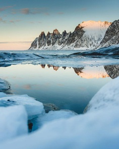 Winter Wonderland in Norway: Landscape Photography by Steffen Fossbakk
